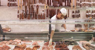 Fleischereiverkäufer
